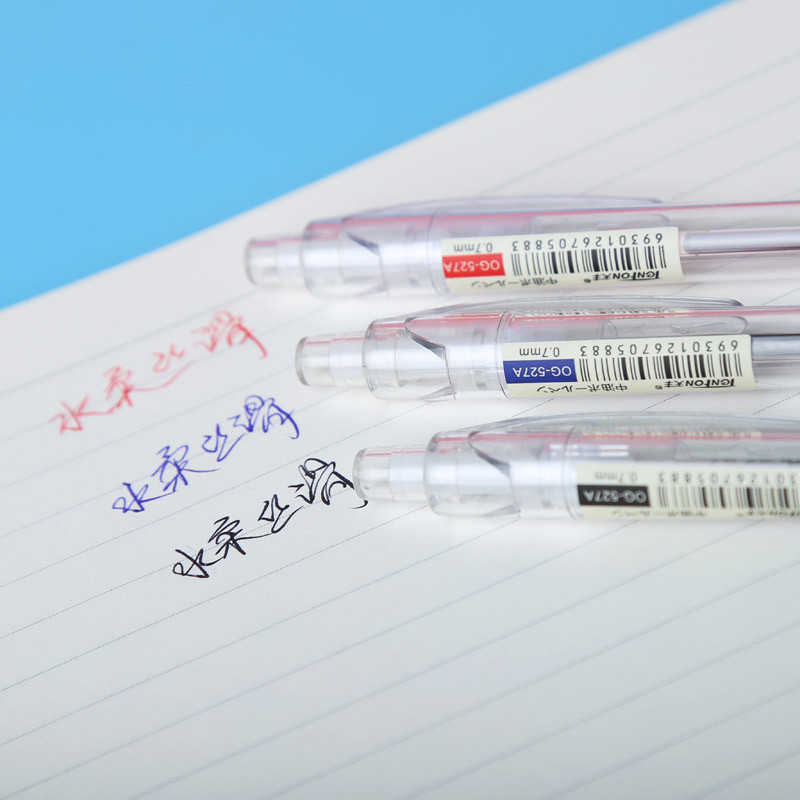 1 Pc Leuke 0.7Mm Balpen Zwart, Blauw, rode Inkt Kantoor Accessoires Materiaal Escolar Schrijven Supply Mark Ball Pen Briefpapier