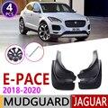 4 шт. переднее заднее крыло автомобиля для Jaguar E-PACE 2018 2019 2020 E PACE крыло брызговик щиток брызговиков аксессуары для брызговиков