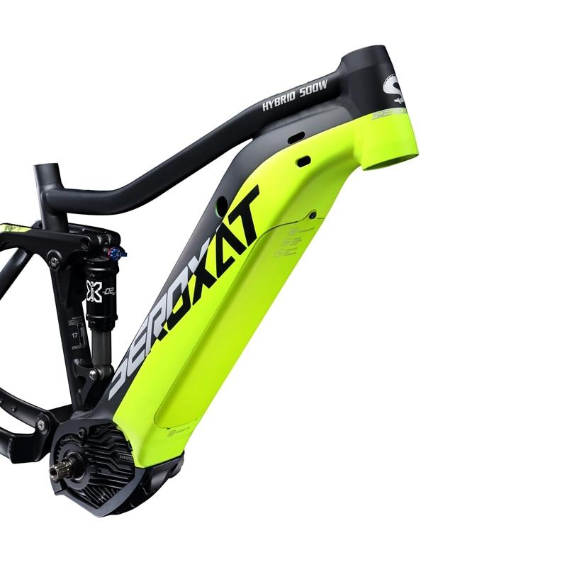 2019 E BIKE 29ER motor bike frmae suspension frame aluminium alloy cross country electric frames shock bicycle downhill frame - 4