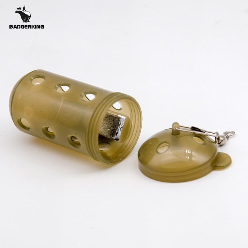 6cm Feeder Cage Fishing Feeder Basket For Maggot Groundbait Is Fishing Accessories For Bottom Rig Carp Fishing