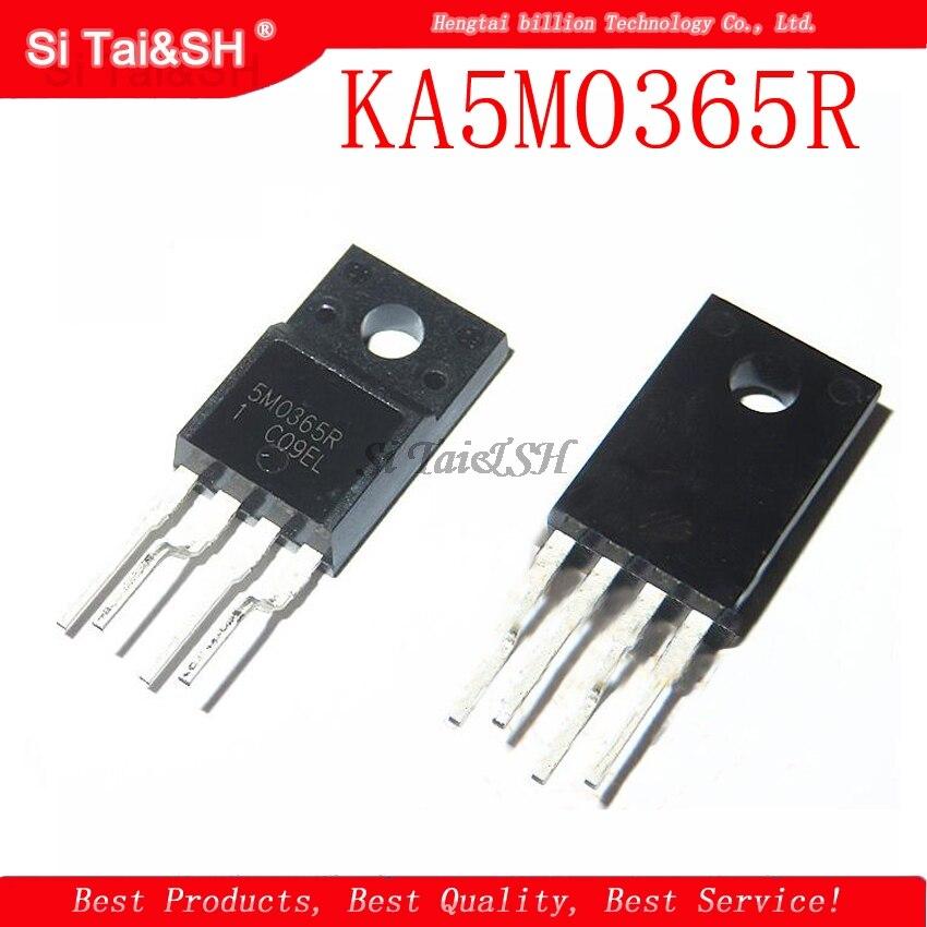 1pcs/lot KA5M0365R KA5M0365 5M0365R 5M0365 TO220F