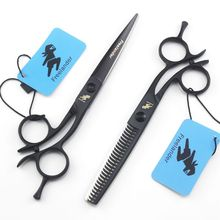 Freelander Barber Professional Hair Styling Scissors,5 inch 6 inch Cutting Thinning Scissors,Salon Hairdressing Scissors цена 2017