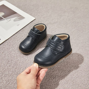 SandQ baby boys ankle boots genuine leather shoes winter footwear for kids chaussure zapato children shoes girls grey navy boot children canvas shoes boys sneakers girls tennis shoes kids footwear toddler autumn spring chaussure zapato casual sandq baby