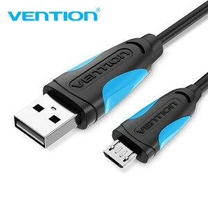 Image 1 - Vention 3A מיקרו USB כבל טעינה מהירה חוט עבור אנדרואיד טלפון נייד נתונים סנכרון מטען כבל 3M 2M עבור סמסונג HTC Xiaomi Sony