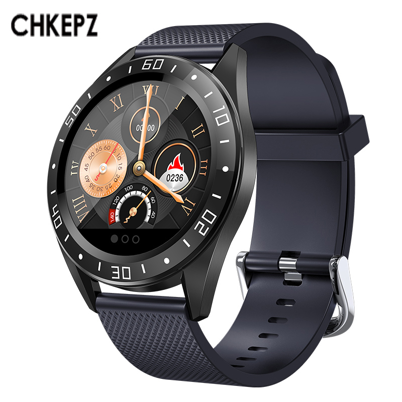 CHKEPZ <font><b>GT105</b></font> Smart Watch Heart Rate Monitor Blood Pressure Bluetooth pedometer Waterproof <font><b>Smartwatch</b></font> Men Women Fitness tracker image