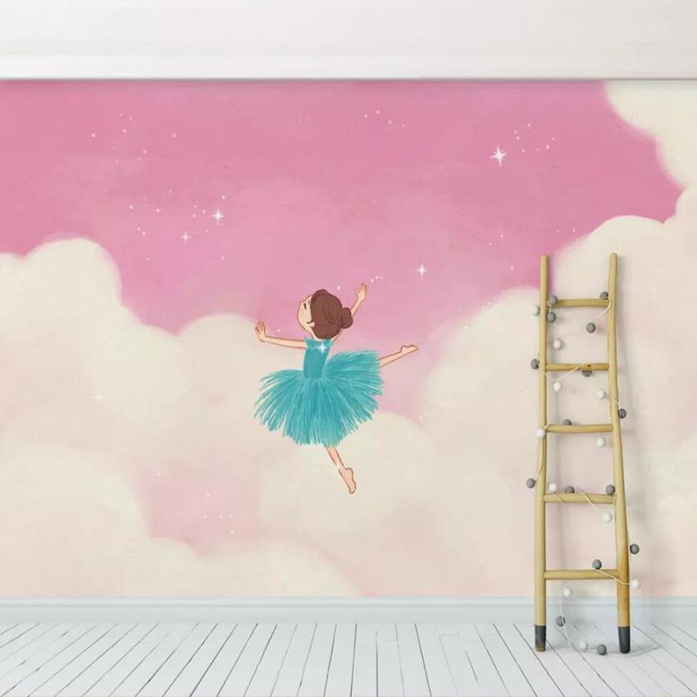 milofi-personnalise-3d-papier-peint-mural-rose-nuage-font-b-ballet-b-font-fille-princesse-chambre-enfants-fond-mur-salon-chambre-decoration-pa