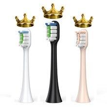 Têtes de brosse à dents de rechange, Compatible avec Xiaomi Soocas X3/X3U pour Xiaomi Mijia T300/500 soocas