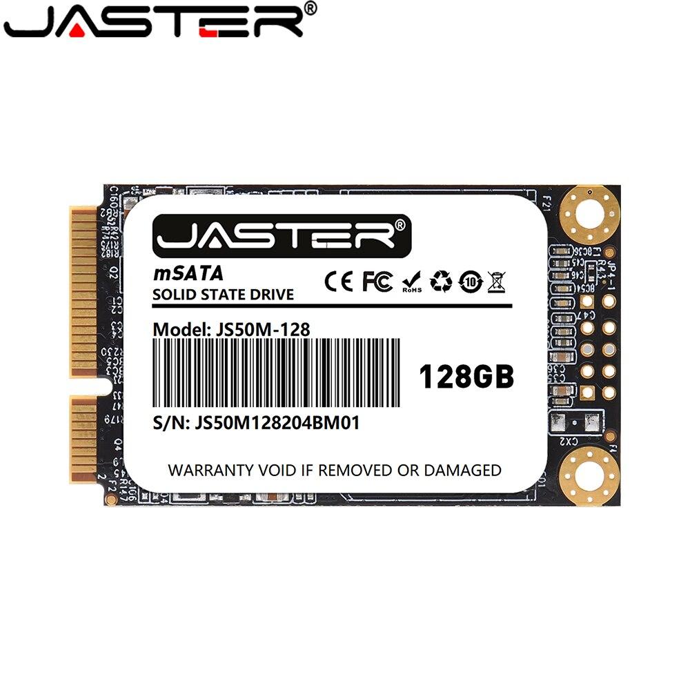JASTER SSD mSATA 128GB 64GB 256GB 512GB 120GB Internal Solid State Hard Disk For Laptop Desktop Ultrabook