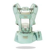 2020 الجبهة التي تواجه الطفل الناقل تنفس مريحة حقيبة ظهر ذات حمالة الوليد الطفل الخصر محب الحقيبة التفاف الكنغر تحمل