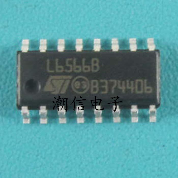 5PCS L6566B IC CTRLR OVP OTP UVLO HV 16SOIC ST
