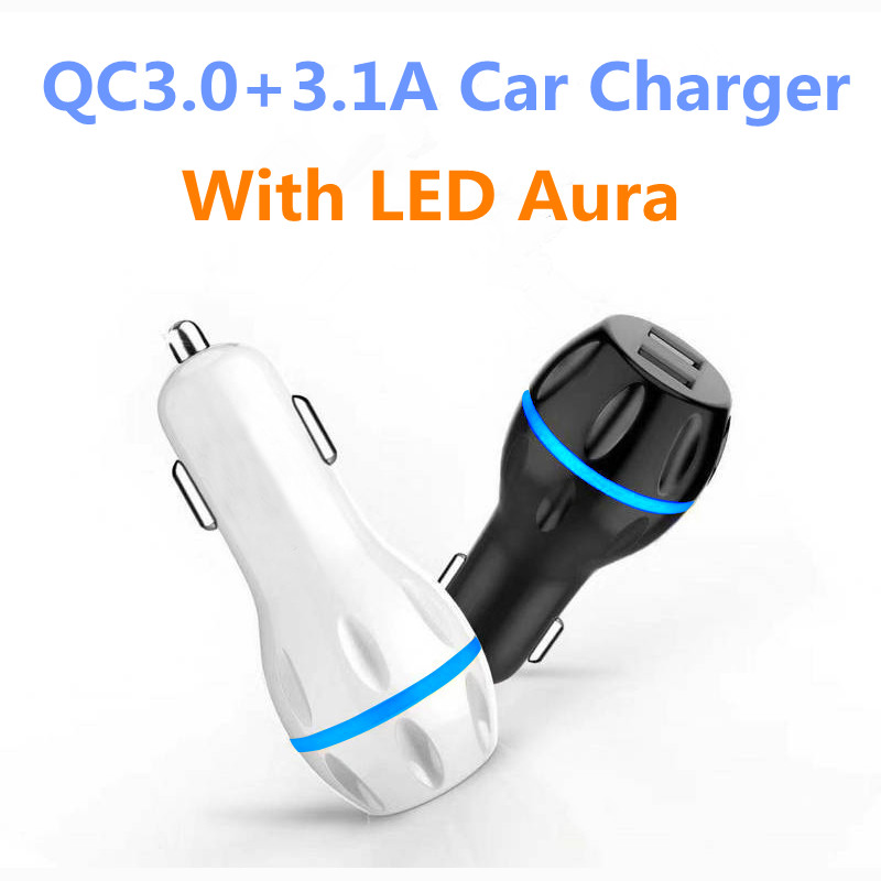 CRDC Car-Usb-Charger Samsung Tablet iPhone Fast