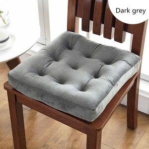 Квадратный коврик для сидений с татами, однотонная Подушка для стула для офиса, домашний декор, современная мягкая подушка для стула, Подушк...