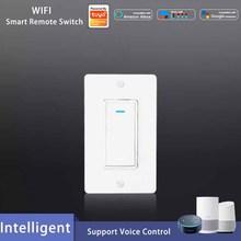 Умный настенный светильник, переключатель Wi-Fi, умный пульт дистанционного управления, голосовые интеллектуальные Контрольные переключатели для Alexa Google Home