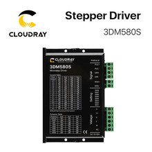 Cloudray 3 Phase 3DM580S Stepper Motor Driver Supply Voltage 24-50VDC Output 1.0-8.0A Current(China)