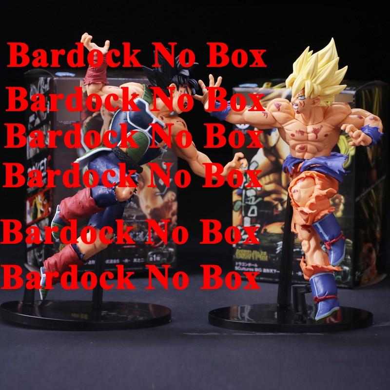 Hot Anime Dragon Ball Z Resurrection F Super Saiyan Son Gokou Bardock PVC Action Figure Collectible Model Doll Toy 23cm