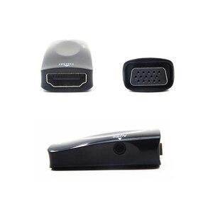 Image 4 - Hdmi メス vga にミニアダプタ 1080 1080p fhd とオーディオケーブル HDMI2VGA コンバータ pc のラップトップコンピュータ用のディスプレイプロジェクター