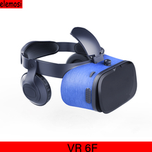 VR Virtual Reality Glasses FIITVR 6F 3D VR Glasses Virtual Reality Headset Box Virtual Reality with Headset Support 4.7-6.0 Inch caraok v9 all in one vr glasses wifi bluetooth virtual reality 3d glasses with 1 2ghz allwinner a33 quad core support otg