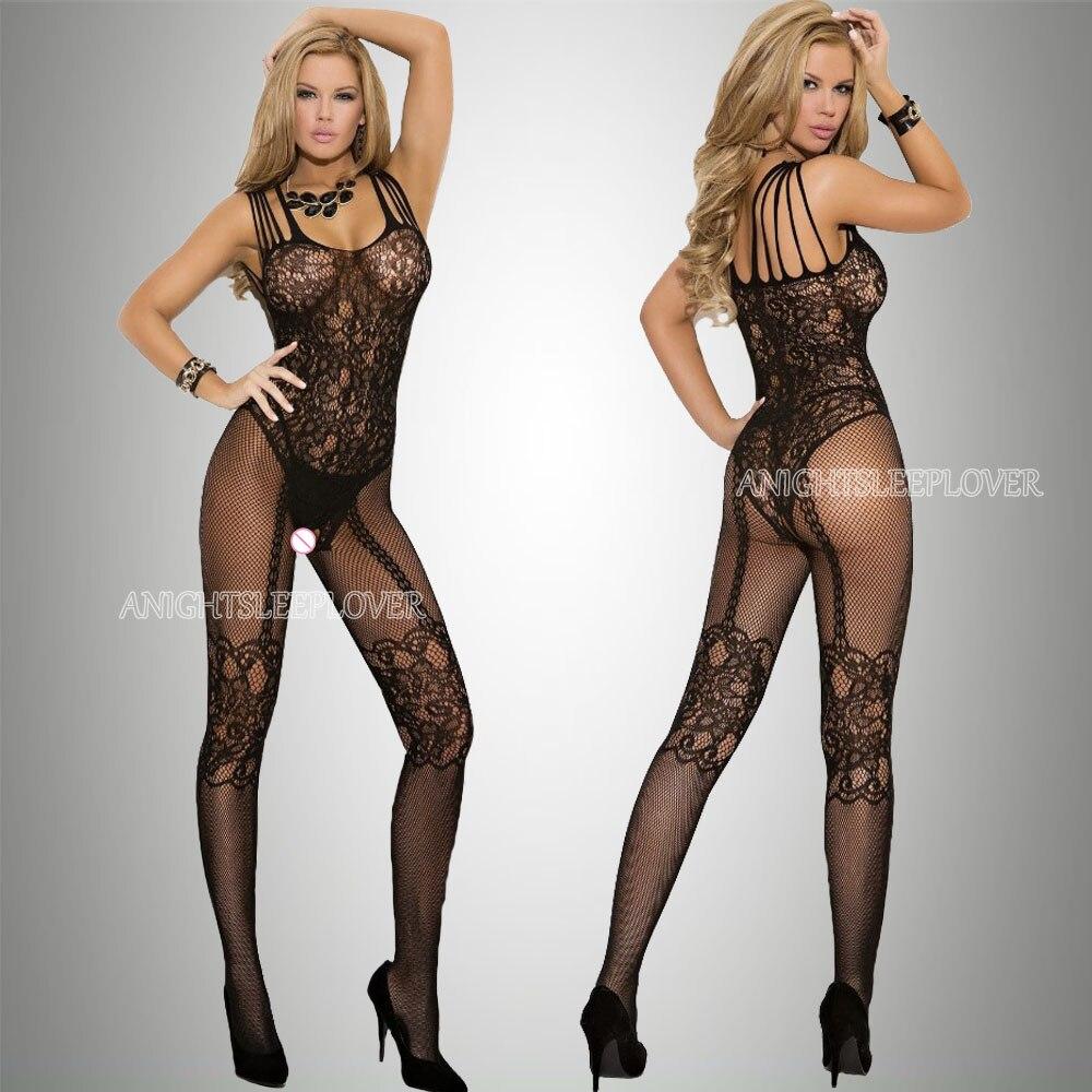 Sexi Women Fishnet Night Dress Hot Bodycon Clubwear Vestido Sexy Costumes Catsuit Erotic Transparent Midi Dresses mujer porno 23