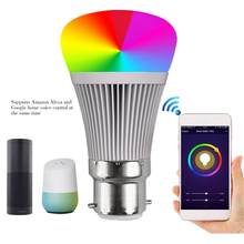 Hot Sale WIFI Smart Music Bulb High-quality Smart WIFI Bulb Smart APP WIFI LED Bulb V3 Dropshipping(China)