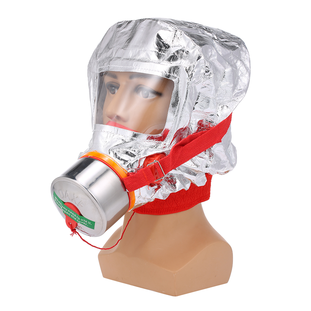 Пожарная маска Eacape для лица, самоспасательный респиратор,  противогаз, дымовая защитная маска для лица, личный аварийный  самоспасательПожарные респираторы