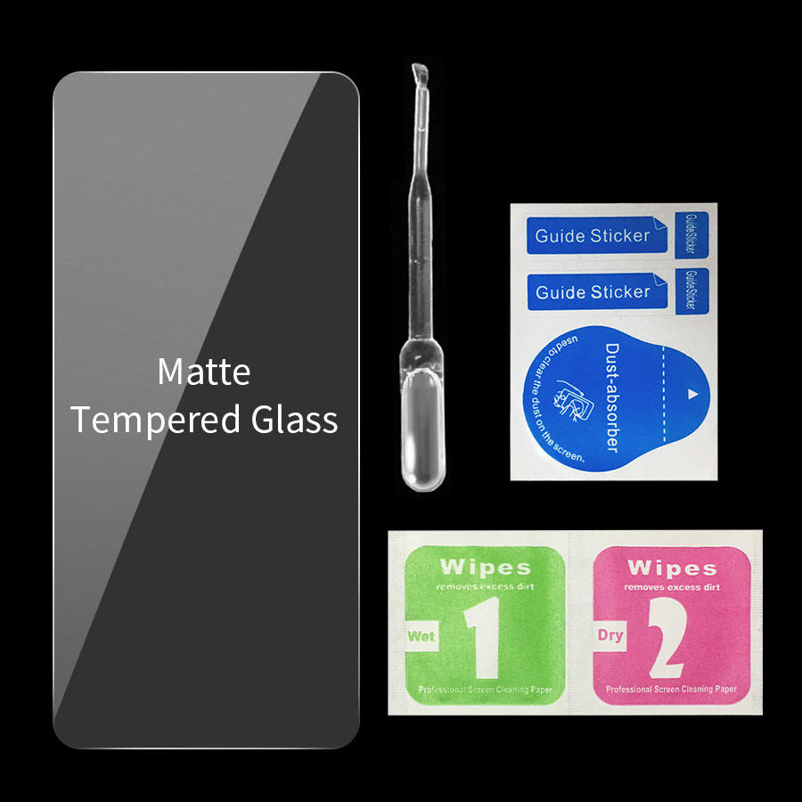 Matte Frosted Full Cover Screen Protector Tempered Glass For Samsung Galaxy 5