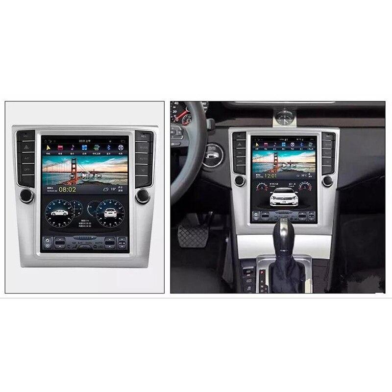 Android 7.0 Vertical Screen Car Radio Stereo For Volkswagen Magotan Passat CC 2007-2015 Car Multimedia GPS Autoradio Headunits