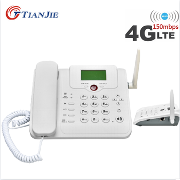 TIANJIE Cordless GSM Support SIM Card Fixed Phone cordless Telephone Landline Phone Wireless Telephone for Home/Office/Company m281 2g gsm desk phone sim based wireless landline telephone