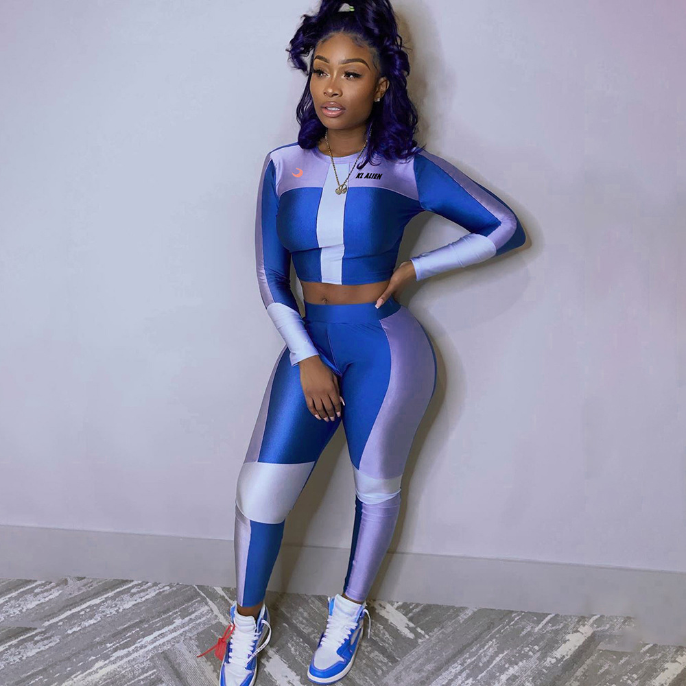 Adogirl Women Casual Two Piece Set Tracksuit