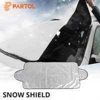 Partol Inverno Universale di Protezione Auto Anti Neve Ghiaccio Scudo Auto Coperture Tenda Da Sole Della Copertura Parabrezza Auto Parabrezza Copertura Dello Schermo