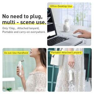 Image 5 - Baseus 2000mAh Portable Cooling Mini USB Fan 2 Speed Silent Small Fan Rechargeable Air Fan Handheld Outdoor USB Fan Desktop Fan