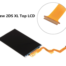 Original lcd novo 2 dsxl 2ds xl substituição superior/superior para nintendo lcd 2ds xl console