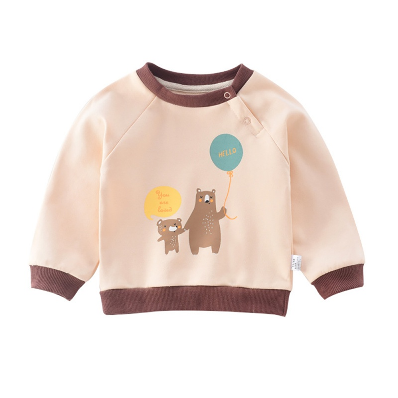 Kid Sweatshirts Blouse Toddler Baby-Girl Cartoon Casual Boy Autumn Outerwear Long-Sleeve