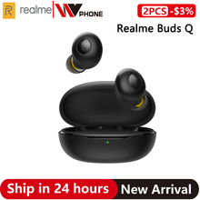 OPPO realme Buds Q Wireless Earphones Bluetooth TWS 400mA Battery Charger Box Bl