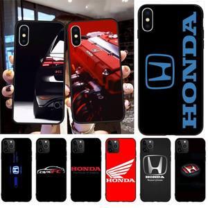 Чехол для телефона honda car, мягкий силиконовый чехол из ТПУ для iPhone 11 pro, XS MAX, 8, 7, 6, 6S Plus, X, 5S, SE, 2020, XR