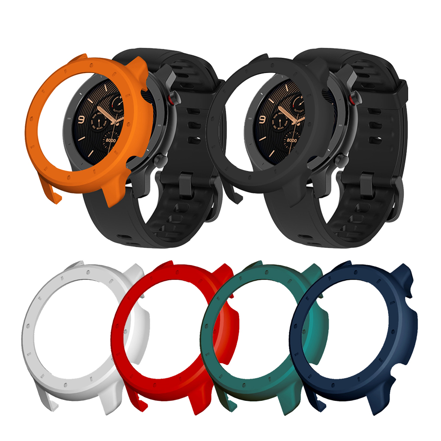 Protective Case Cover For Xiaomi Amazfit GTR 42&47mm PC Protector Frame For Amazfit GTR Watch Protect Shell Accessory Strap Band