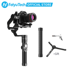 FeiyuTech AK4000 3-Axis Camera DSLR Handheld Stabilizer Gimbal 4KG Payload with Follow Focus Control for Canon Panasonic SONY