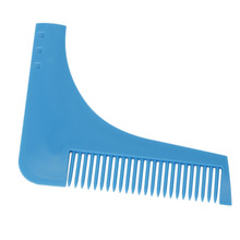 Hair Cut Blue With Comb