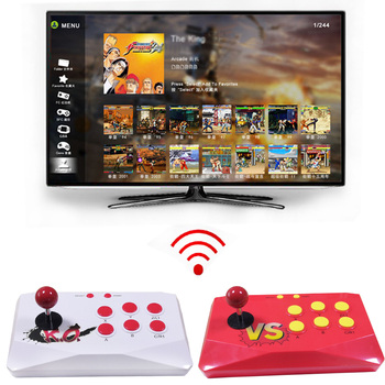 Newest Wireless Arcade Joystick HD TV Game Console Built in 1788 Games support save games Classic Arcade games