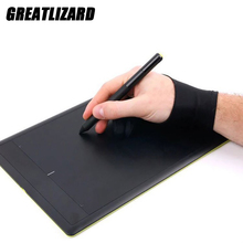 Drawing-Gloves Writing-Drawing Draw-Accessories Painting Digital-Tablet Two-Finger Black