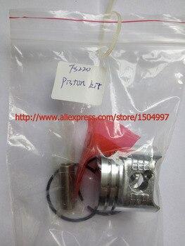 Kit de pistones con anillos de pasadores conjunto de montaje con pasadores para ajuste FS180 FS220 FR220 pieza de repuesto P/N 4119 030 2003