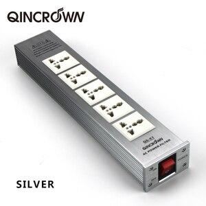 Image 5 - Hifidiy Live QG K1 QG K2 Hifi Audio Power Filter Socket Hifi Vermogen Filter Plant Schuko Socket