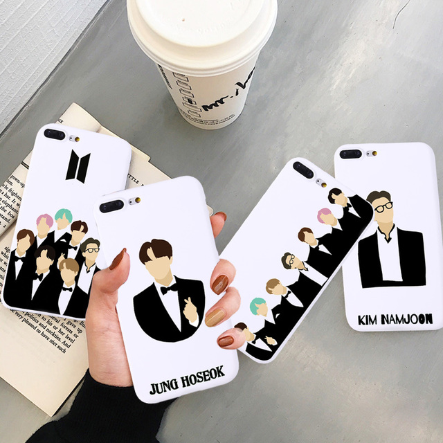 BTS MEMBER IPHONE CASE (9 VARIAN)