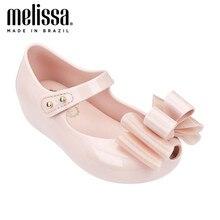 Mini melissa iii grande arco menina geléia sapatos 2020 verão sapatos melissa sandálias meninas da criança geléia sapatos sandálias para a menina crianças