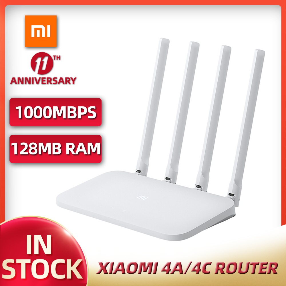 Xiaomi Router 4A 4C MI Gigabit edition 2.4GHz 16MB ROM 128MB DDR3 High Gain 4 Antenna APP Control IPv6 WiFi Xiaomi Router 1
