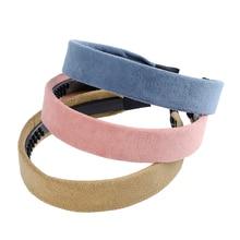 Solid Color Fashion Small-brimmed Headbands