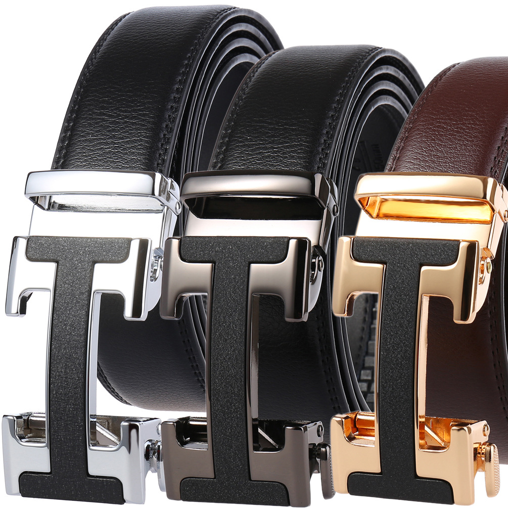Male Belt New Designer Men's Belts Luxury Man Fashion Belt Luxury Brand For Men High Quality Automatic Buckle