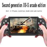 Game Console Player X9 for Game Handheld Retro Game 5.1 inch Screen Handheld Game Player Support Camera for Xmas Gift
