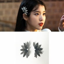hair clip DEL LUNA Hotel same Female Girl Korean Sweet Fashion Hair Pin Clips Hairpin pearl IU tv dreama