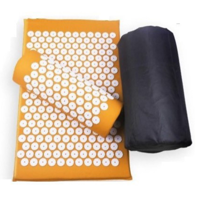 Body Relaxing Acupressure Massage Mat with Pillow for Neck and Back pain 18