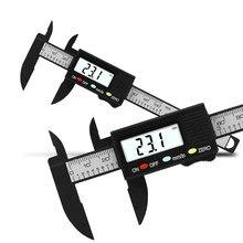 Paquímetro digital eletrônico de 0-100mm, ferramenta de medição, calibre para joias, régua digital de medição